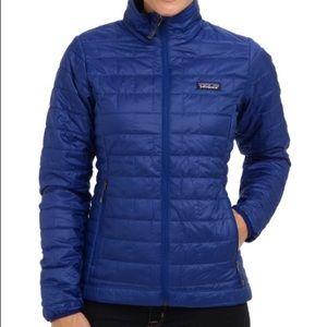 Patagonia Nano Puff Cobalt Blue Jacket XS As Is